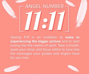 11, 11:11, and angel image