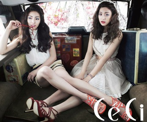 ceci, park se young, and k actress image