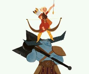 dragon age, sera, and dragon age inquisition image