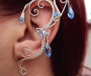 earring, faerie, and jewelry image