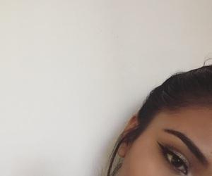 face, makeup, and eyebrowsonfleek image