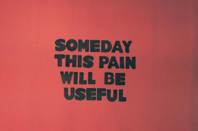 Black Pain Quote Red Someday Inspiring Picture On Favimcom