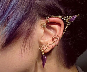 earring, fae, and fairy tale image