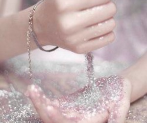 glitter, hands, and sparkle image