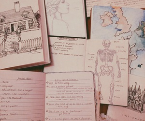book, aesthetic, and drawing image