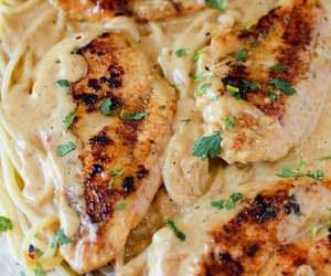 Chicken, creamy, and delicious image