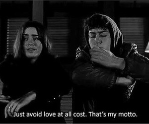 love, quote, and stuck in love image