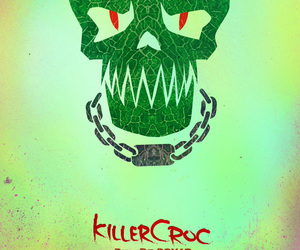 suicide squad, killer croc, and killercroc image