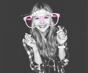 glasses, pink, and hitgirl image