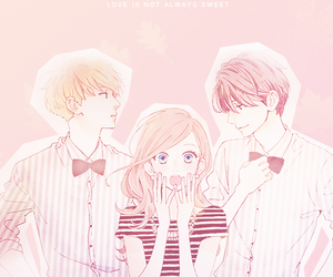 hirunaka no ryuusei and manga image