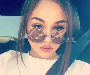 gorgeous, sunglasses, and maggie lindemann image