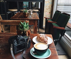 cafe, coffee, and vintage image