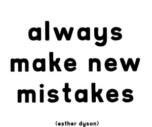 mistakes, quote, and life image
