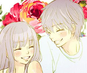anime, flowers, and kimi ni todoke image