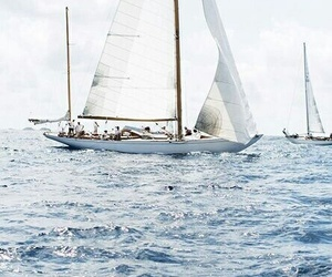 blue, theme, and boat image