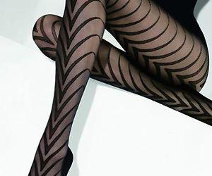 black, fashion, and stockings image