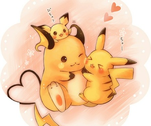adorable, kawaii, and pikachu image
