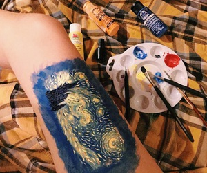 art, paint, and tumblr image