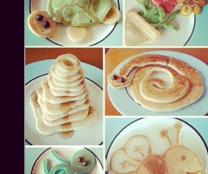 food and waking up to love image