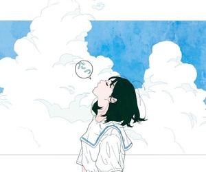 girl, anime, and summer image