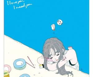 anime girl and manga image