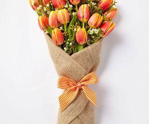 beautiful, flowers, and romance image