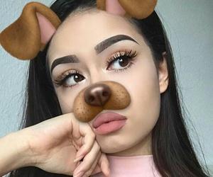 girl, beauty, and snapchat image