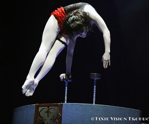 black, circus, and red image