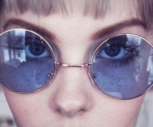 glasses, grunge, and sunglasses image