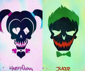 DC, joker, and suicide squad image