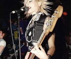 Liberty spikes, bass player, and studs n spikes image