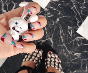 nails, cute, and megbaby image