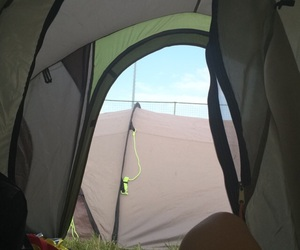 camping, vieuw, and festival image