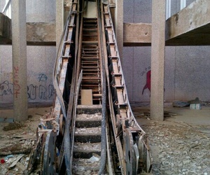 abandoned, scary, and the end of world image