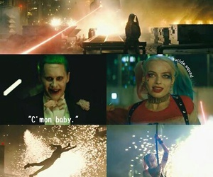harley quinn, joker, and margot robbie image
