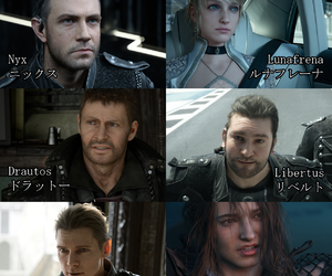 characters, final fantasy, and kingsglaive image