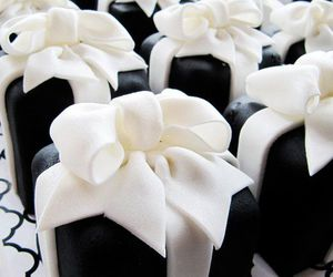 bow, cake, and dessert image