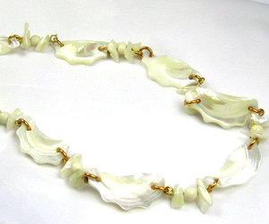 etsy, pearl necklace, and vintage jewelry image