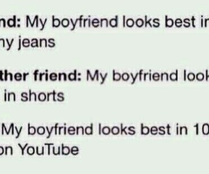youtube, boyfriend, and funny image