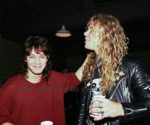 Eddie Van Halen, James Hetfield, and metallica image
