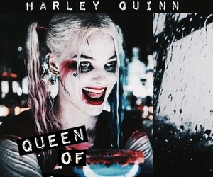 harley quinn, Queen, and margot robbie image