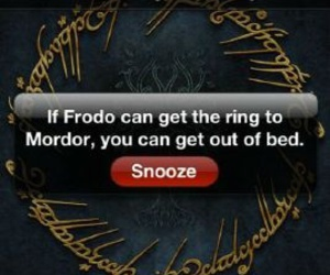 frodo, funny, and alarm image