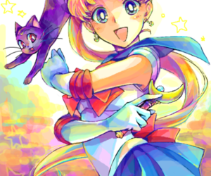 sailor moon, anime, and usagi image