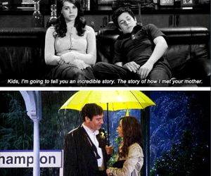 himym, how i met your mother, and series image