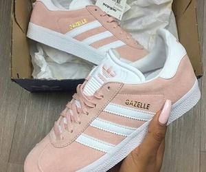 adidas, pastel, and white image