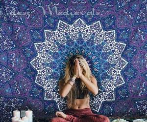 hippie, boho, and girl image