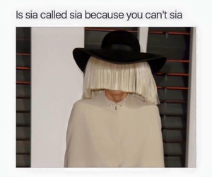 funny, ️sia, and lol image
