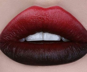 levres, lip, and lips image