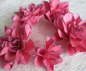 flowers, handmade, and Paper image