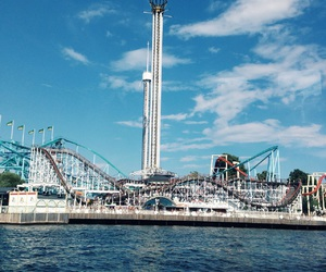 amusement park, sweden, and gröna lund image